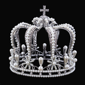 Classic Wedding Tiara - Wedding Tiara Headpiece