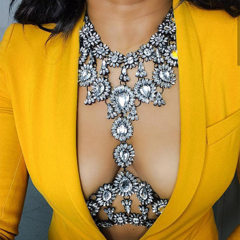 BIG Crystal Statement Necklaces | Exquisite Statement Necklaces For Women - Bring The Jewels