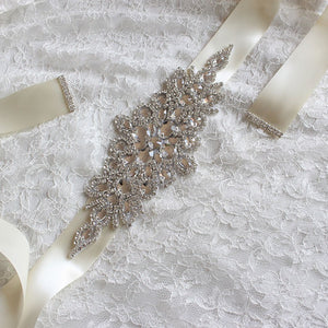 Bridal Sashes | Crystal Wedding Sashes - Bring The Jewels