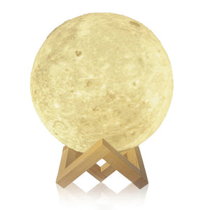 3D LED Moon Lights - Unique 3D Moon Lamp