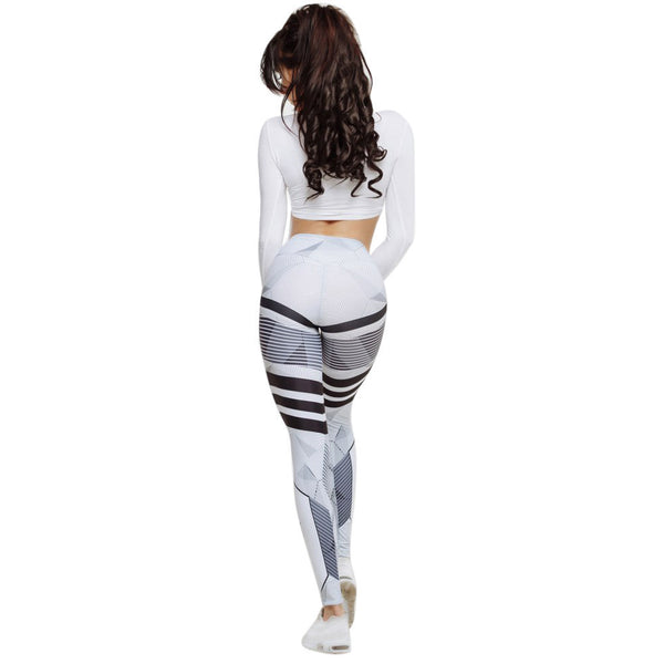 Womens Gym Leggings | Funky High Waisted Gym Leggings - Bring The Jewels