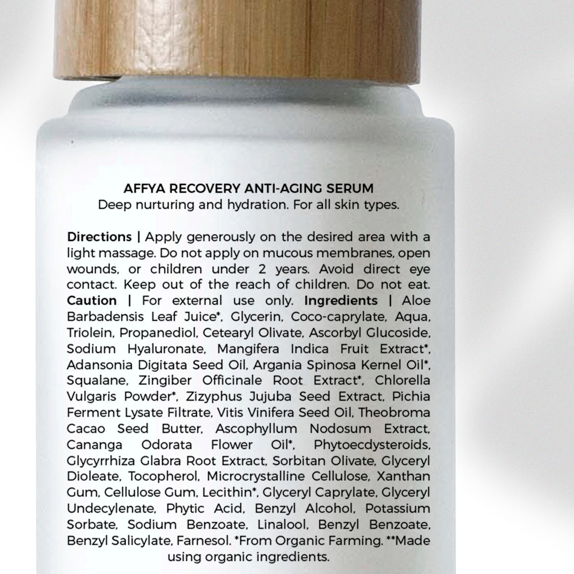 Recovery Antiaging Serum