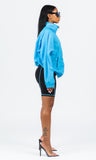 BLUE HIGHLIGHT WINDBREAKER