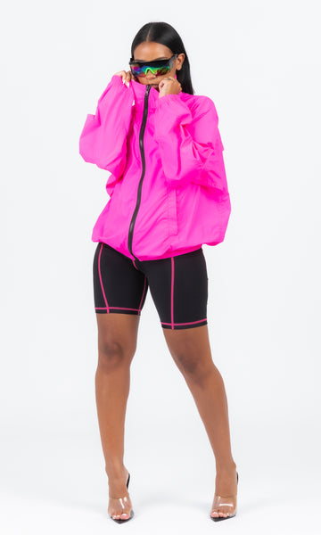 PINK HIGHLIGHT WINDBREAKER