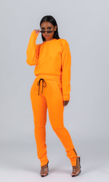 OG SWEATSUIT (ORANGE)