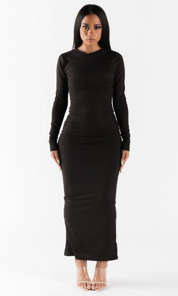 BASICALLY BODY DRESS (BLACK)