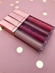 Princess Collection Lip Gloss - 4 Pack