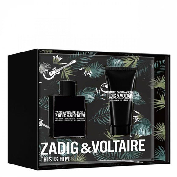 Zadig & Voltaire This is Him 50ml EDT Gift Set