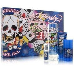 Ed Hardy Love & Luck Set 100ml EDP