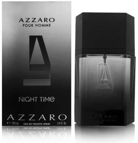 Azzaro Pour Homme Night Time 100ml EDT UNWRAPPED