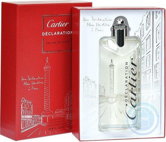 Cartier Declaration Place Vendome Eau De Toilette Spray LTD Editon 100ml EDT
