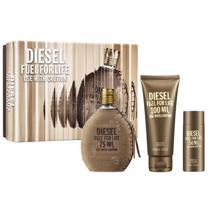 Diesel Fuel for Life Homme 75ml EDT Gift Set