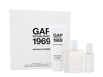GAP Established 1969 Femme 50ml EDT Gift Set