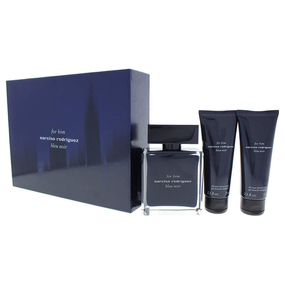 Narciso Rodriguez For Him Bleu Noir 100ml EDT Gift Set