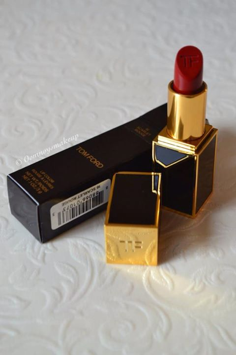 TOM FORD LIP COLOR scarlet rouge (no.18)