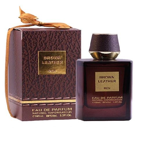 Brown Leather 100ml Eau De Parfum