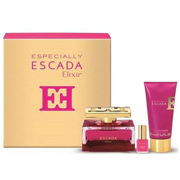 Escada Especially Elixir 75ml EDP Gift Set