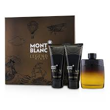 Mont Blanc Legend Night 100ml Gift Set