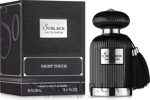 So Black Night Touch 100ml Eau de Parfum