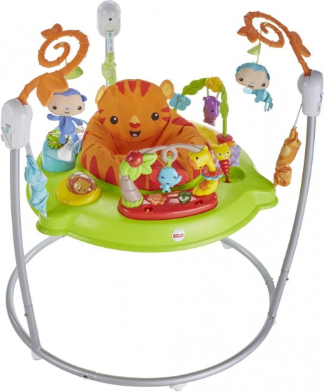 Fisher-price Roaring rainforest jumperoo junior groen/wit/oranje