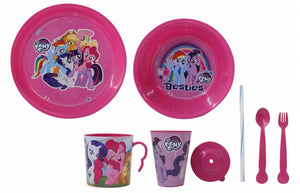 Jamara Serviesset my little pony meisjes  8-delig