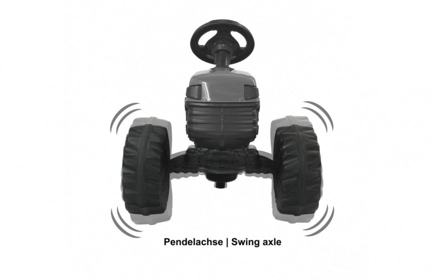 Jamara Tractor Ride On Big Wheel 12 V 114 X 53 Cm