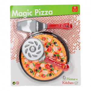 Johntoy Home and kitchen speelset pizza 9-delig
