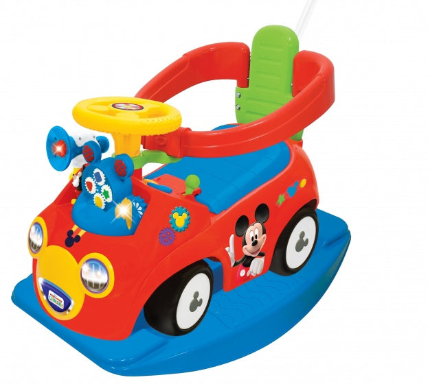 Kiddieland Loopwagen mickey mouse ride on junior