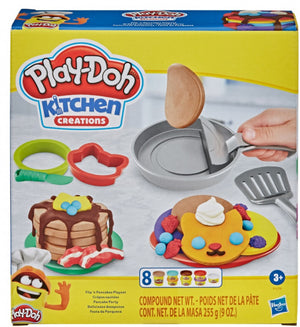 Play-Doh Speelset Kitchen Flip In The Pan Junior 23-Delig