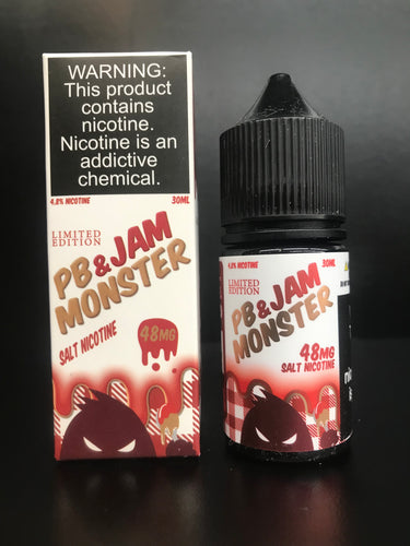 Jam Monster PB+Strawberry nicotine salt