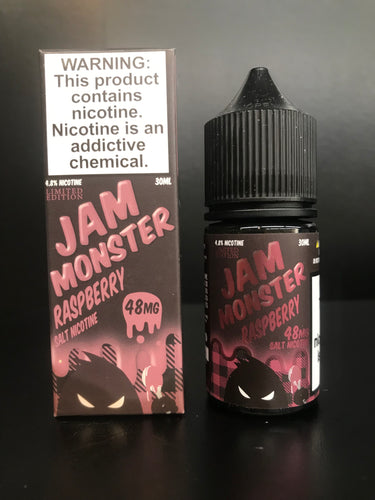 Jam Monster Raspberry nicotine salt