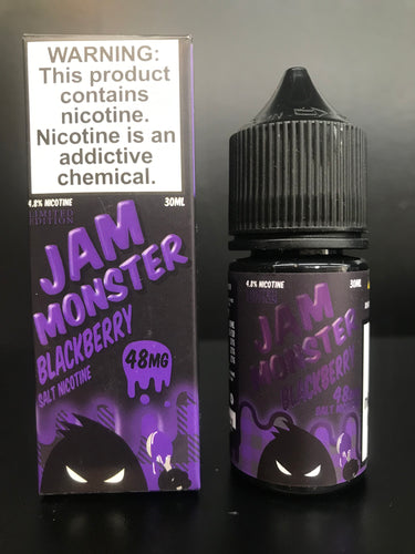 Jam Monster Blackberry nicotine salt