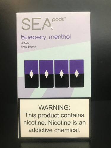 Sea Pods Blueberry Menthol
