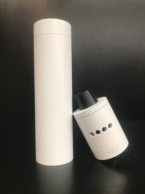 SOI Shorty-X Mechanical Mod White