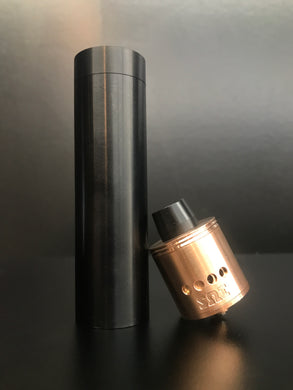 SOI Shorty-X Mechanical Mod Black