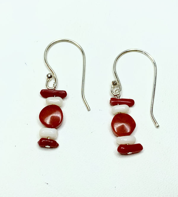 Red & White Shepherd Hooks