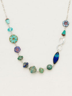 Fandango Sky Silver Necklace