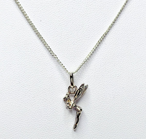 Sterling Silver Tinkerbell Pendant