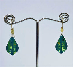 Tidal Teal Riverwood Earrings