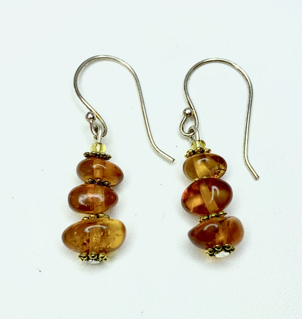 Clear Honey Amber Shepherd Hooks