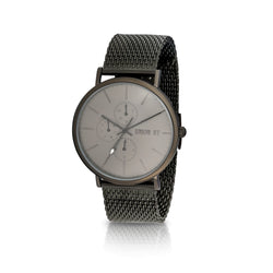 Union St Ethan Grey Dial with Blacktone Mesh Watch