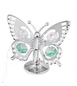Swarovski Silver Swallow Tail Butterfly