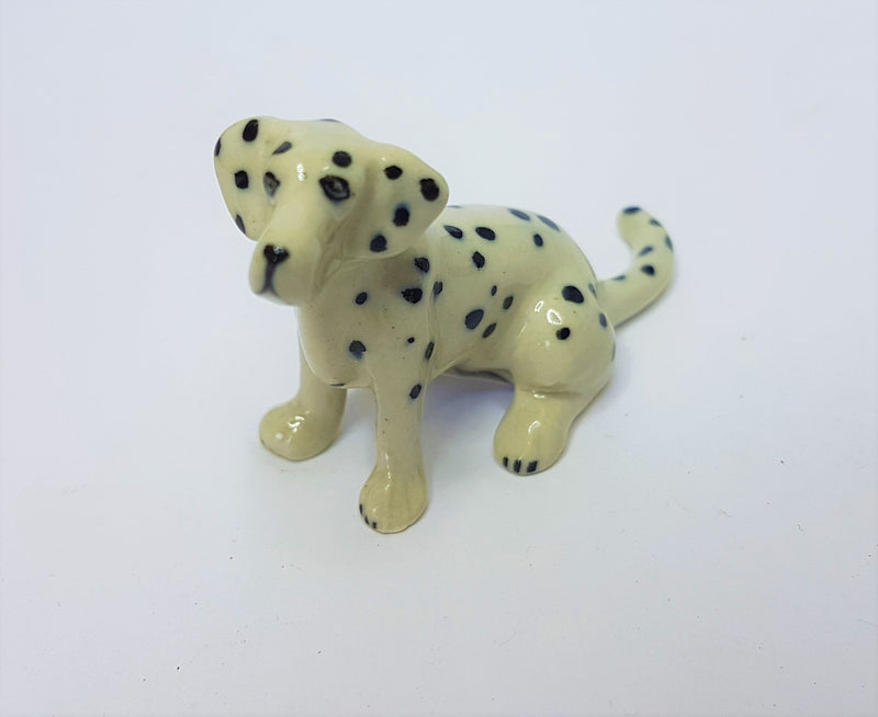 Dalmatian Sitting Ceramic Figurine