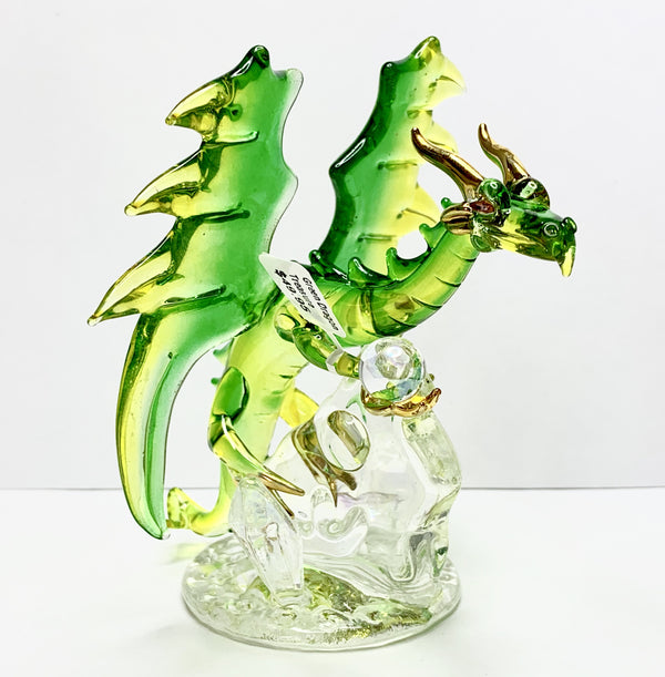 Green And Yellow Treasure Dragon