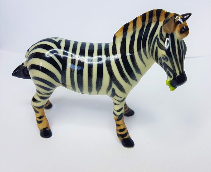 Zebra  Ceramic Figurine
