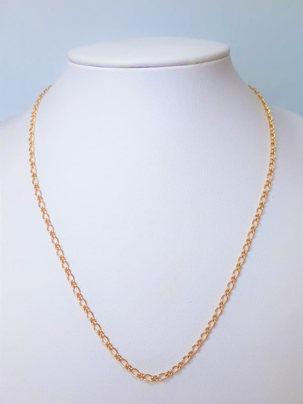 9ct Rose Gold Fig-O Chain