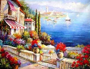 Mediterranean Sea Painting