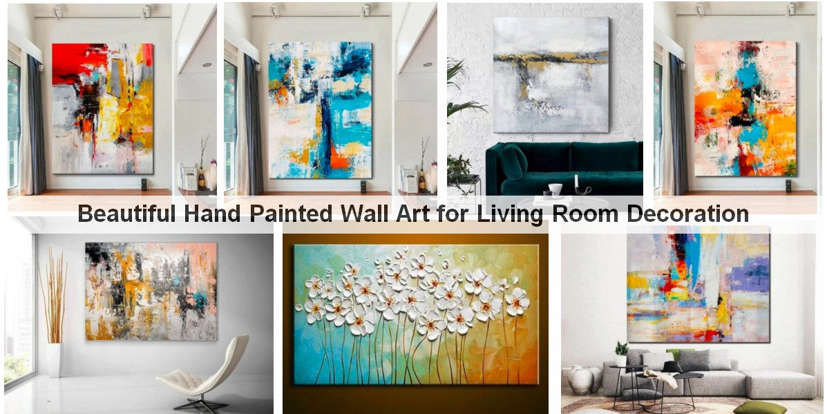 Paintings for Living Room Wall, Large Paintings for Living Room, Abstract Acrylic Painting, Modern Abstract Art, Huge Canvas Painting, Buy Paintings Online