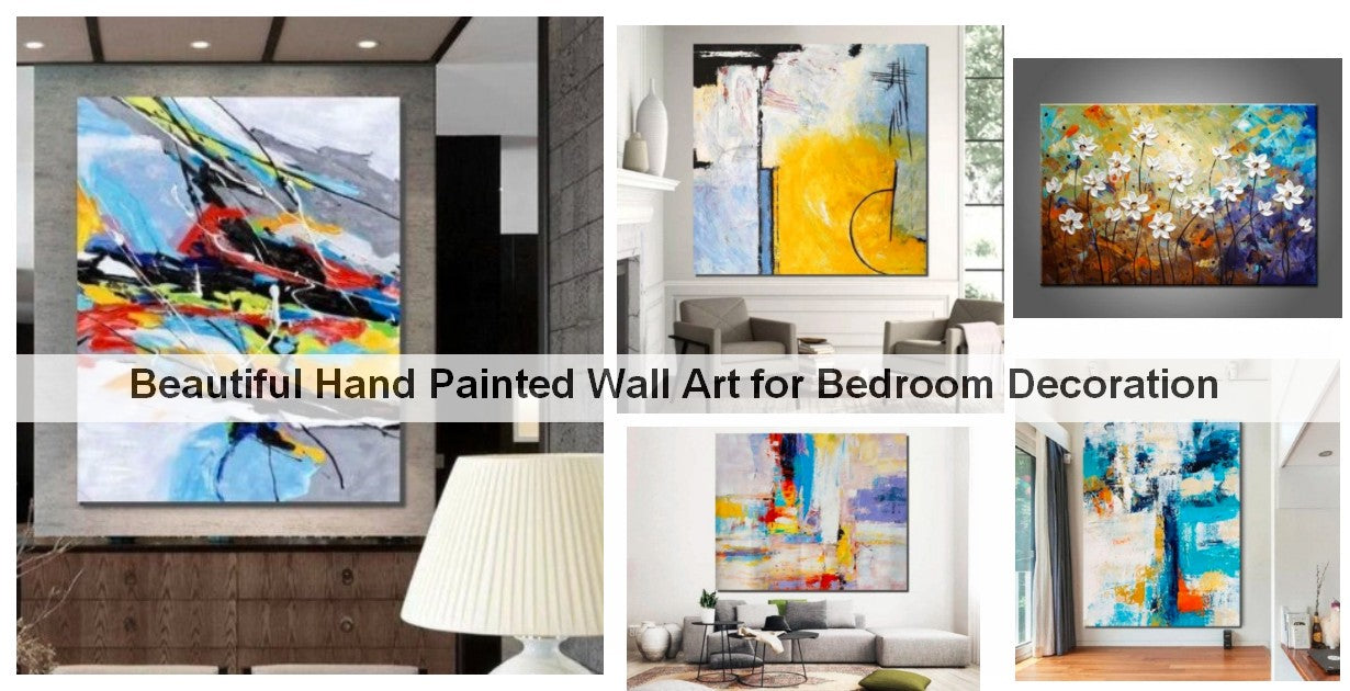 Hand Painted Acrylic Painting, Large Wall Art on Canvas, Paintings for Bedroom, Living Room Acrylic Wall Art, Modern Wall Paintings, Bedroom Canvas Painting