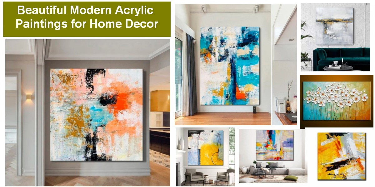 Texture Paintings, Hand Painted Acrylic Painting, Acrylic Painting for Sale, Modern Paintings for Living Room, Bedroom Wall Art Paintings, Abstract Artwork